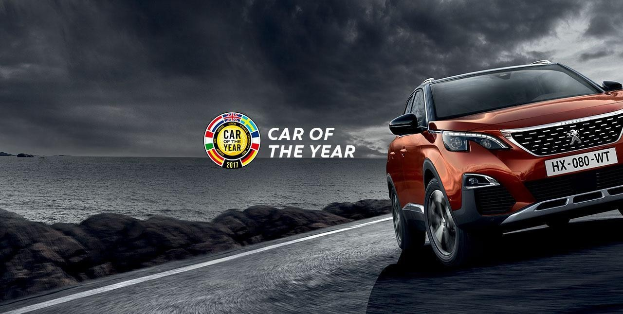 3008SUV car of the year