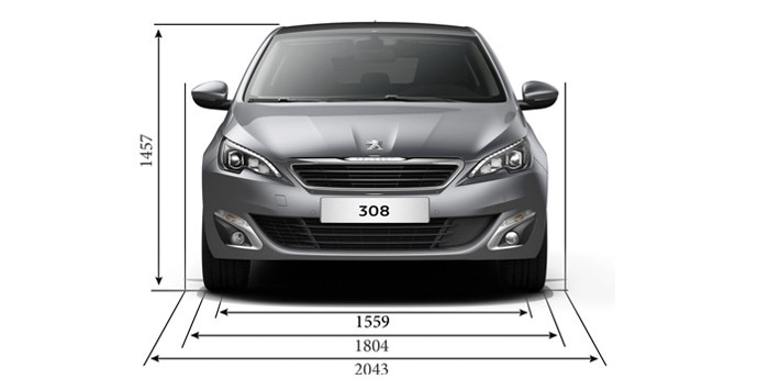 peugeot 308 hb technical information. Black Bedroom Furniture Sets. Home Design Ideas