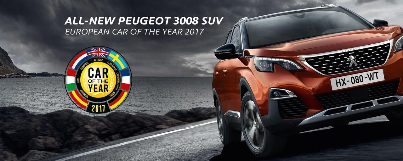 3008 wins european car of the year