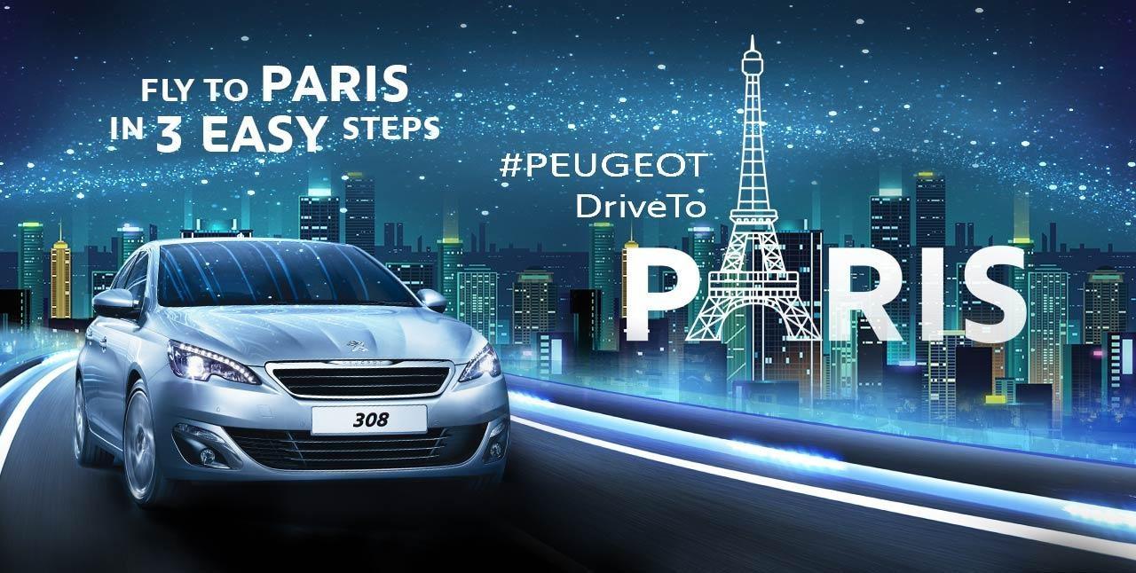 Drive to Paris