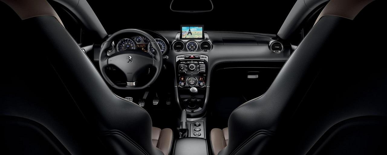 PEUGEOT RCZ Sports Coupe | Interior Design